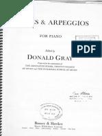 Donald Gray - Scales & Arpegios for Piano