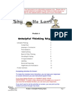 SHY 06 Unhelpful Thinking Styles