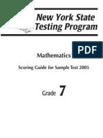 Samples Mathematics