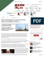 18-09-14 Tiene Tamaulipas con qué aprovechar Reforma Energética