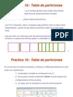 p10.- Tabla de Particiones
