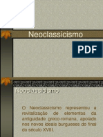 Neoclassicismo - Apresenta o
