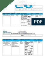 Planificación Clase Matemat. Junio 2014