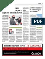 Cajas Abrirán Su Accionariado Por Poca Liquidez de Municipios_Gestión 29-09-2014