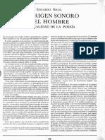 El Origen Sonoro Del Hombre_Eduardo Nicol