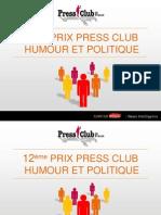 Prix de l'Humour Politique 2014