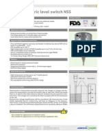 Potentiometric Level Switch for Dry Run Protection
