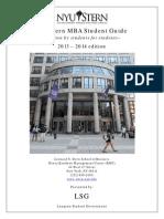 NYU Stern Guide