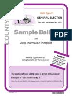 Inyo County Sample Ballot 2