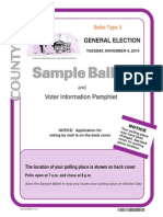 Inyo County Sample Ballot 3