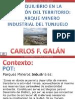 DESEQUILIBRIO EN LA OCUPACIÓN DEL TERRITORIO EL PARQUE MINERO INDUSTRIAL DEL TUNJUELO