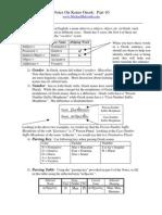 Notes On Koine Greek, Pt. 10