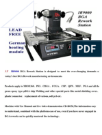 LY IR9000 BGA Rework Station User guide
