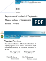 Transfer Function [Control Engg]