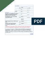 Loan Settlement Calculator