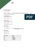 gas turbines formulas