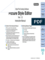 Picture Style Editor