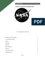 NASA FY2010 Budget Heavy Money on Climate