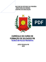 Curriculo Do CFSD - 2005