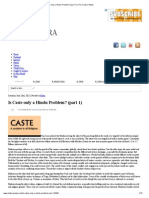 Is Caste Only a Hindu Problem_ (Part 1) _ the Chakra News