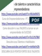 Aula 02 Identificação de Talento e Características Empreendedoras