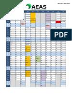 Calendario Escolar Excel 2014 15pdf
