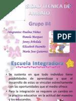 Escuela Integradora1
