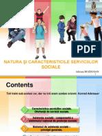 Tema 3. Natura Şi Caracteristicile Serviciilor Sociale