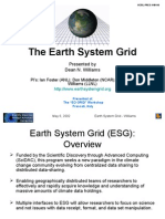 The Earth System Grid Presentation