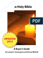 The Holy Bible a Buyers Guide 2013