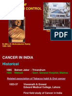 5 Decades of Cancer Control in India - V. Shanta Part I