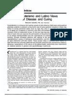 Curanderismo and Latino Views of Disease and Curing - Renaldo Maduro