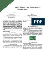 Base Paper on robotic arm