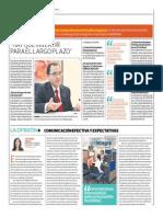 Hay Que Invertir Para El Largo Plazo_El Comercio 27-09-2014
