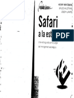 95826294 Mintzberg H Safari a La Estrategia PDF