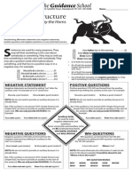 Sentence Structure Lessobn and Worksheet