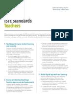iste technology standards for teachers