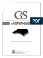 Governament School Complete Packet 2013