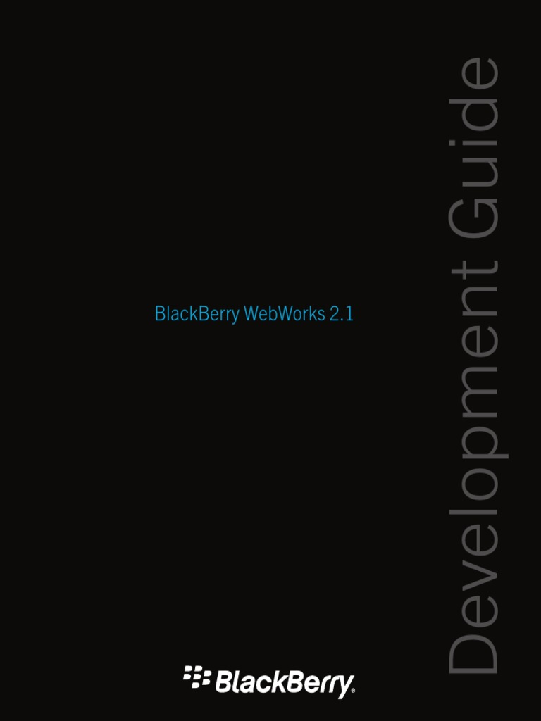 BlackBerry WebWorks 2 1-Development Guide | Proxy Server