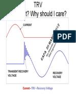 Transient Voltage Recovery - TRV Understanding -Alexander