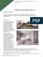 Las Tendencias Estéticas Que Imperarán en Cersaie 2014 - Actualidad - El Periódico Del Azulejo