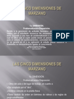 Cinco Dimensiones Marzano