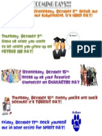 Homecoming Days Poster