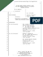 Trudeau Criminal Case Document 204 Sentencing 03-17-14 Filed 05-28-14