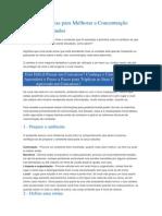 4 Regras Básicas para Melhorar a Concentração Durante os Estudos.docx