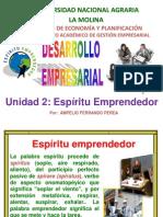 B. Espíritu Emprendedor