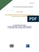 Industrialización en El Marco de La OMC
