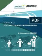 Locomotora de la innovación - Folleto Digital Informativo