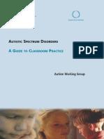 Autistic Spectrum Disorders