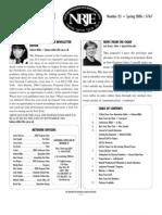 NRJE Newsletter 25